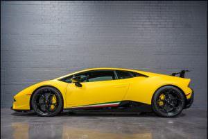 Жёлтая Lamborghini Huracan Performante от Underground Racing