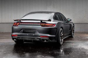 Углеродный диффузор Porsche Panamera Stingray GTR от TopCar