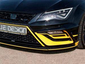 Новый обвес кузова SEAT Leon Cupra от JE Design