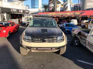 Тюнинг Volkswagen Atlas для бездорожья от Таннера Фауста