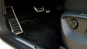 Алюминиевые накладки на педали Volkswagen Tiguan R-Line 2018
