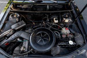Двигатель 1,9-литра Audi 100 LS 1974 года выпуска