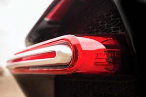 Задние фонари Bugatti Chiron