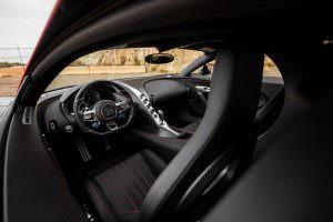 Фото салона Bugatti Chiron Betmobile