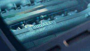 Двигатель 3,5-литра V12 на 550-сил Bugatti EB110 GT