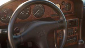 Салон Bugatti EB110 GT 1993 года выпуска