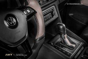 Тюнинг салона Volkswagen Amarok от Pickup Design