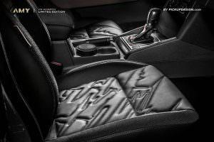 Сиденья с боковой поддержкой VW Amarok от Pickup Design