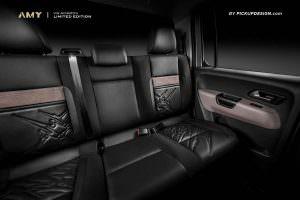 Кожаный салон Volkswagen Amarok от Pickup Design