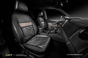 Кожаные сиденья Volkswagen Amarok от Pickup Design