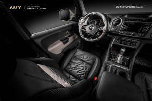 Фото салона Volkswagen Amarok от Pickup Design