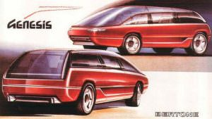 Lamborghini Genesis от Bertone. Прототип 1988 года