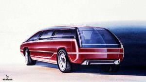 Lamborghini Genesis от Bertone. Шоу-кар 1988 года