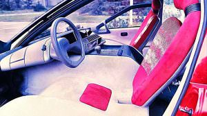 Фото салона Lamborghini Genesis от Bertone. 1988 год
