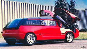 Минивэн с крыльями-чайки Lamborghini Genesis