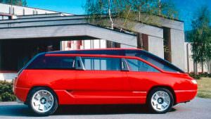 Минивэн Lamborghini Genesis. Концепт 1988 года
