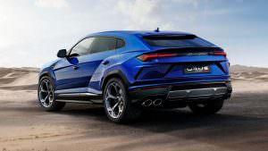 Супер-внедорожник Lamborghini Urus