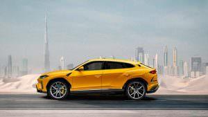 Новый Lamborghini Urus S, неофициальный дизайн