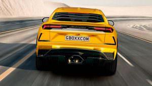 Рендер Lamborghini Urus S, неофициальный дизайн