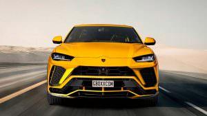 Lamborghini Urus S, неофициальный дизайн