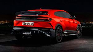 Lamborghini Urus SuperVeloce, неофициальный дизайн