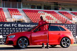 Новые Audi для игроков ФК «Барселона»