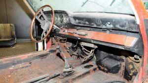 Ужасное состояние салона Porsche 901