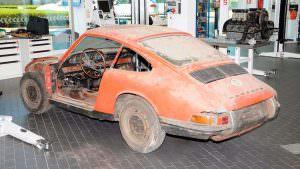 Porsche 901 до реставрации
