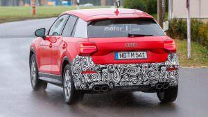 Шпионские фото Audi SQ2
