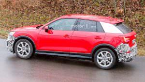 Дорожные тесты прототипа Audi SQ2