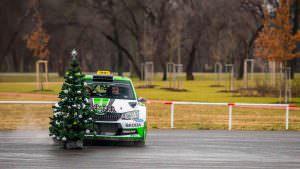 Ралли-такси Skoda Fabia R5: скоростная доставка пассажиров