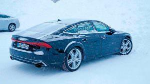 Зимние испытания Audi RS7 Sportback второго поколения