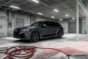 Новая Audi Q7. Тюнинг от ABT Sportsline и Vossen Wheels