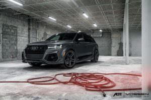Тюнингованная Audi Q7 от ABT Sportsline и Vossen Wheels