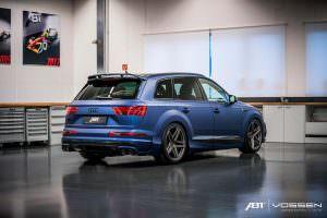 Тюнингованная Audi SQ7 от ABT и Vossen