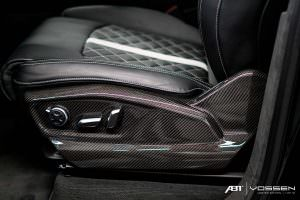 Карбон в салоне Audi SQ7 от ABT и Vossen