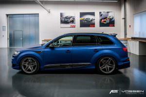 Новая Audi SQ7. Тюнинг от ABT и Vossen