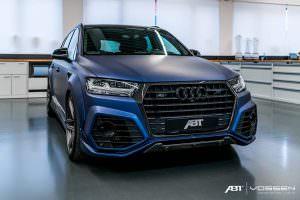 Агрессивный обвес Audi SQ7 от ABT и Vossen
