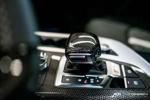 Рычаг коробки Audi SQ7 от ABT Sportsline и Vossen Wheels
