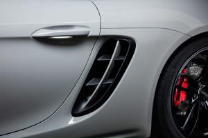 Боковые воздухозаборники Porsche 718 от TechArt