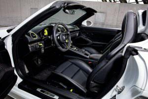 Фото салона Porsche 718 Boxster от TechArt