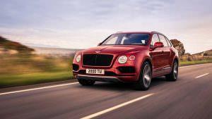 Новый Bentley Bentayga с бензиновым V8