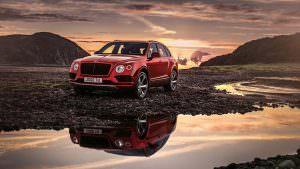 Самая дешёвая модификация Bentley Bentayga - бензиновый V8