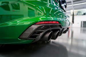 Новые выхлопные трубы для Audi RS5-R. Тюнинг ABT Sportsline