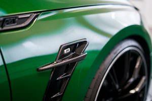 Воздухозаборники в крыльях Audi RS5-R от ABT Sportsline