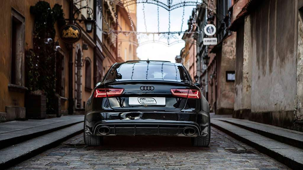 Audi RS6 C7 Sedan. Тюнинг из S6