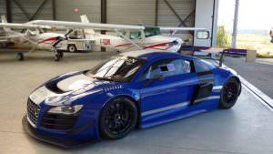 Гоночная Audi R8 LMS. Победительница гонок на выносливость SPA