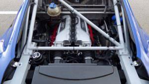 Гоночный двигатель 5,2-литра V10 в Audi R8 LMS