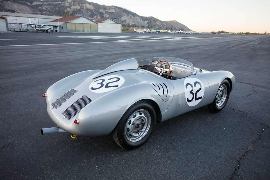 Porsche 550A Spyder 1958 года. Одна из 40 выпущенных