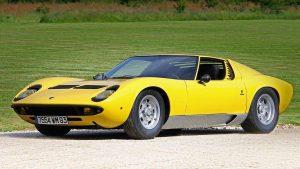 Суперкар Lamborghini Miura: выпущено 764 единицы